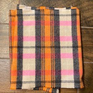 Plaid JCREW scarf